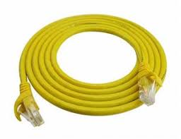 D-Link Cat6 UTP 24 AWG PVC Round Patch Cord - 15m - Yellow Colour