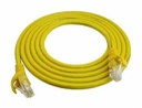 [NCB-C6UYELR1-15] D-Link Cat6 UTP 24 AWG PVC Round Patch Cord - 15m - Yellow Colour