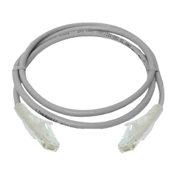[NCB-C6UGRYR1-3-LS] D-Link Cat6 UTP 24 AWG LSZH Round Patch Cord - 3m - Grey Colour