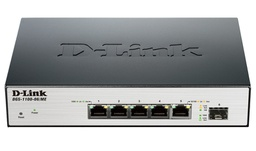 [DGS-1100-06/ME/E] D-Link DGS-1100-06/ME/E 5-port 1000Base-T Easy Smart gigabit Switch with 1 x SFP port, IPv6 support, MetroEthernet switch