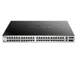 [DGS-3130-54PS] D-Link DGS-3130-54PS 48 10/100/1000BASE-T PoE ports , Lite L3 Stackable Managed Switch (802.3af/802.3at support)