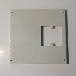 Trunking Outlet Plate Single