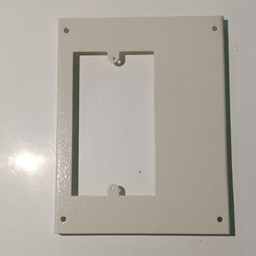 Trunking Outlet Plate Twin
